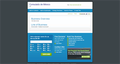 Preview of consulmexalb.net